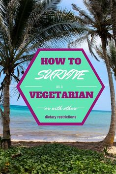 Anyone with dietary restrictions might have serious doubts about travelling in a developing area. Those doubts are definitely founded but with a little bit of preparation and some helpful advice you should be able to get by just like everyone else and walk away with a full tummy.