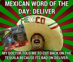 Mexican word of the day...I can't help it. I say these to my self and I laugh every time, I'm such a dork! I love these