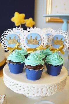 Little Prince Party with So Many Cute Ideas via Kara's Party Ideas KarasPartyIdeas.com #PrinceParty #PartyIdeas #Supplies (34)