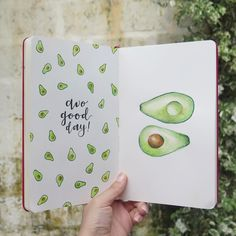"""1,030 mentions J'aime, 7 commentaires - Notebook Therapy (@notebook_therapy) sur Instagram: """"Oh my gosh avocados are my favourite food in the world  this is by @opheliasriver make sure to…"""""""