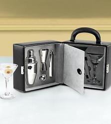 Superior Make Me A Martini Portable Bar Set $39.99