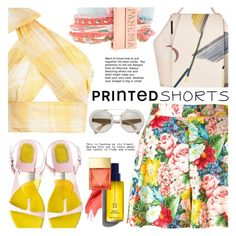 """""""Prints Charming: A Shorts Story"""" by barbarela11 ❤ liked on Polyvore featuring Kenzo, Hipanema, Urban Decay and Michael Kors"""
