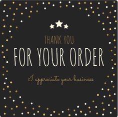 I appreciate your business..