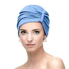 Turbante para quimioterapia Ribbon. Algodón elástico transpirable algodón  elastán. turbante de carebell durante el cancer b5dde8b868d