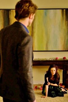 Edward and Bella in New Moon