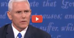 Pence exposes Hillary's treason!...BOY...THAT MODERATOR TRIED TO SHUT HIM DOWN!  LUNATIC KAINE, WAS ALLOWED TO BUTT IN 70 TIMES TO MIKE PENCE'S TIME AND WORDS.  AND I DIDN'T ONCE HEAR HER TELL KAINE IT WAS 2 MINUTES FOR HIM. PENCE IS VERY EXPERIENCED IN BEING A CONSERVATIVE RUNNING AGAINST THE MEDIA, SO HE HANDLED IT WELL....HE IS THE FIRST GREAT HIRE TRUMP HAS MADE!!  I EXPECT ALL THE PEOPLE HE HIRES TO BE OF THE SAME HIGH LEVEL OF ABILITY....