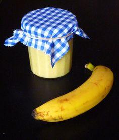 Banana Curd; une recette d'un déjeuner sur l'herbe Compote Recipe, Curd Recipe, Dessert Aux Fruits, Homemade Butter, Warm Food, Breakfast Dessert, Cold Meals, Slow Food, Lemon Curd