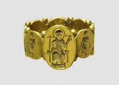 Signet Ring 5th Century AD (?) Found in Izmir province, Turkey (Source: The British Museum)
