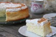 עוגת גבינה וקוקוס עדינה - ללא גלוטן