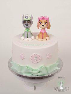 Pav patrol cake
