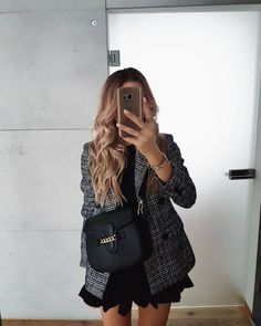 outfit for round one of sorority recruitment Winter Outfits Women, Fall Fashion Outfits, Mode Outfits, Work Fashion, Fashion Blogger Style, Stylish Outfits, Womens Fashion, Summer Outfits, Cute Casual Outfits