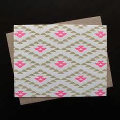 Love the pattern and neon pink bits