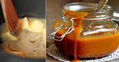 Try Homemade Caramel Sauce from Bob's Red Mill. Visit today and start cooking! Sauce Caramel, Butterscotch Sauce, Homemade Caramel Sauce, Sweet Bourbon, Sugar Candy, Meals In A Jar, Fall Treats, Pumpkin Pie Spice, Gazpacho