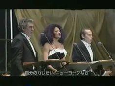 Diana Ross, Placido Domingo & Jose Carreras Domingo - New York New York (Live) From Osaka, Japan
