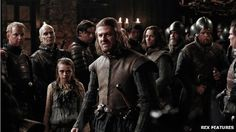 """Characters in fantasy world films & TV series almost always speak w/ British accents. Why? Because it provides a splash of """"otherness."""""""