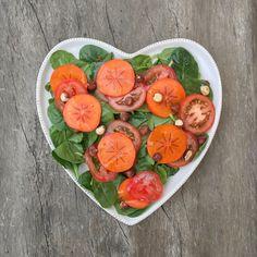 Winer Tomato Persimon Salad