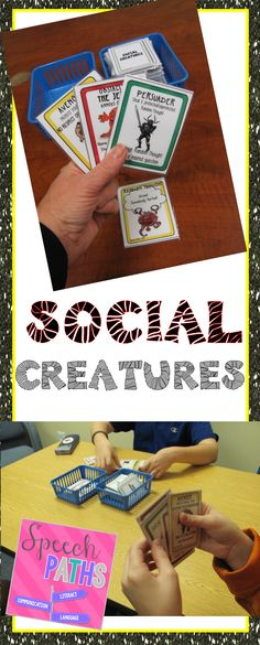 Engage middle school students with this strategic card game to practice social communication skills!