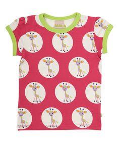 Mala super schattige T-shirt met giraffenprint. mala.nl.emilea.be