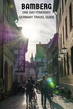 Bamberg One Day Itinerary. Bamberg Travel Guide. Travel in Europe.