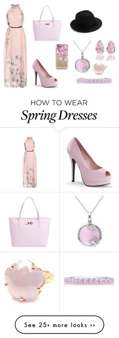 """Untitled #30"" by bojic-amina on Polyvore featuring moda, Ted Baker, Casetify, Eugenia Kim, Allurez y Pasquale Bruni"