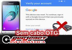 Galaxy J1 6 - Remover conta do Google sem cabo OTG (Novo link download)