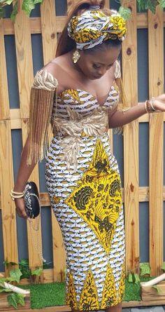 Beautifully made african print ankara gown styles for church, ankara styles for church - African Fashion Dresses African Fashion Ankara, Latest African Fashion Dresses, African Dresses For Women, African Print Fashion, Africa Fashion, African Attire, African Style, African Hair, African Men