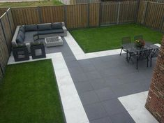 Best Edging Lawn Ideas and Designs for your Home 2019 Alternatives to Grass for your Back Garden Landscaping, Backyard Patio Designs, Modern Backyard, Landscaping Ideas, Back Garden Design, Modern Garden Design, Casa Patio, Backyard Renovations, Design Jardin