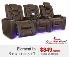 Seatcraft Element Theater Seating