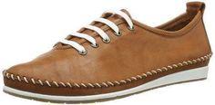 Oferta: 69.95€. Comprar Ofertas de Andrea Conti 0027400 - Zapatos con cordones de cuero mujer, color marrón, talla 41 barato. ¡Mira las ofertas!