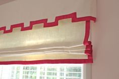 Trendy Bedroom Curtains With Blinds Valances Greek Key 16 Ideas Plywood Furniture, Furniture Design, Painted Furniture, Hollywood Regency, Outside Mount Roman Shades, Chinoiserie, Bedroom Curtains With Blinds, Purple Curtains, Burlap Curtains