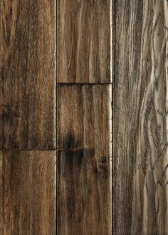 Virginia Mill Works - x 5 Bell County Hickory Handscraped Flooring. This is the floor I love! Types Of Wood Flooring, Solid Wood Flooring, Engineered Hardwood Flooring, Hardwood Floors, Flooring Ideas, Modern Cabin Decor, Hardwood Floor Colors, Lumber Liquidators, Stone Tiles