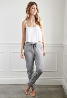 Heathered PJ Pants | Forever 21 - 2000184749
