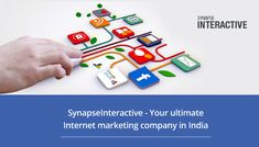 SynapseInteractive is the ultimate Internet marketing company in India that offers complete Internet marketing services to clients from a diverse range of industry verticals encompassing real estate, healthcare, education, retail and wholesale, beauty and spa, law, automobiles, aviation, and many more.