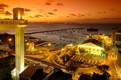 Salvador, Bahia, Brazil - magical city of music, love it! Places Around The World, Around The Worlds, Places To Travel, Places To Go, World Cities, Largest Countries, Amazing Destinations, Paris Skyline, The Good Place