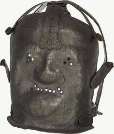 En riktigt fruktansvärd mask från 1600-talet hindrade patienterna från att bitas och spotta.