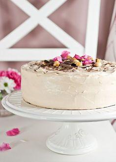 Chocolate Banana Cake with Caramel Frosting • Sweet Sensation