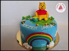Torty z Pasją: Tort Kubuś Puchatek, Winnie the Pooh cake fondant.