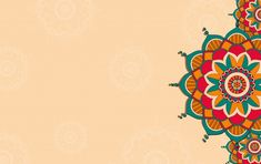 Free Vector | Luxury ornamental mandala background in gold color Mandala Floral, Mandala Art, Mandala Pattern, Mandala Design, Feliz Diwali, Happy Diwali, Rosas Vector, Poster Background Design, Pattern Background