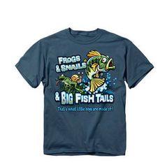 Buck Wear Toddler Frogs & Fish T-Shirt - Mills Fleet Farm