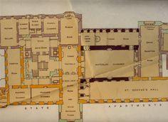 Windsor castle floorplans staterooms