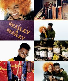 Nathan Stewart-Jarett as Fred Jr. Weasley Antonia Thomas as Roxanne Weasley