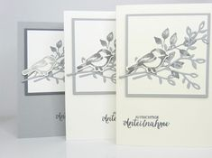 Stampin Up Karten, Stampin Up Cards, Funeral Cards, Condolences, Sympathy Cards, Stamping Up, Embellishments, Birthday Cards, Gallery Wall