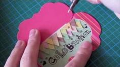 CCM - How to make a cute flip flap card, via YouTube.