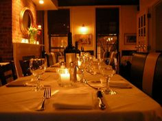 Enjoy a romantic evening at Raoul's in #NYC