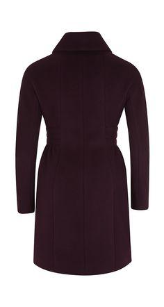 Manteau en velours de laine