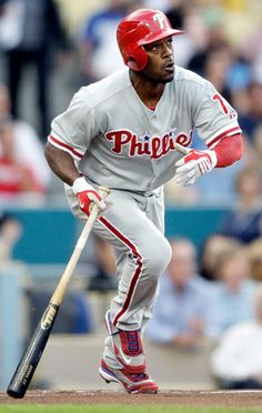 Jimmy Rollins- JRoll has been the spark plug of the Phillies for more than a decade now.