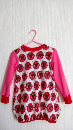 Ballontunika rosarosa Feli  - Kleid
