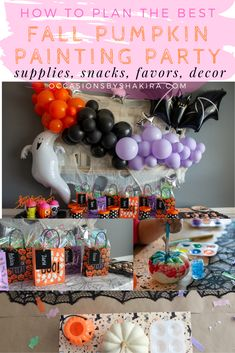 Host the best fall pumpkin painting party. Planning ideas, decor, snacks, supplies and the cutest party favors. Find some Inspo for your kiddos next Fall crafting party. Pumpkin Painting Party, Pumpkin Carving Party, Fall Party Favors, Polka Dot Paper, Fall Family, Painted Pumpkins, Paint Party, Craft Party, Fall Pumpkins