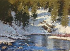 Early Thaw Pastel on Paper     edward kennedy