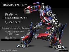 Transformers party Transformer Party, Transformers Birthday Parties, Boy Birthday Parties, 5th Birthday, Birthday Ideas, Samsung Galaxy S4, Superhero Baby Shower, Superhero Party, Michael Bay